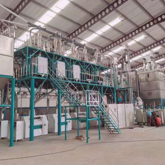 100T Maize milling machine in Mozambique